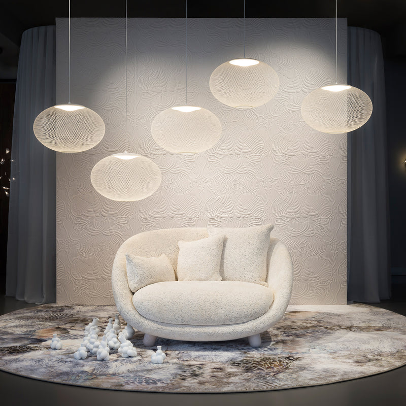 Moooi Love Sofa by Marcel Wanders Dodo Pavone Upholstery Roomset