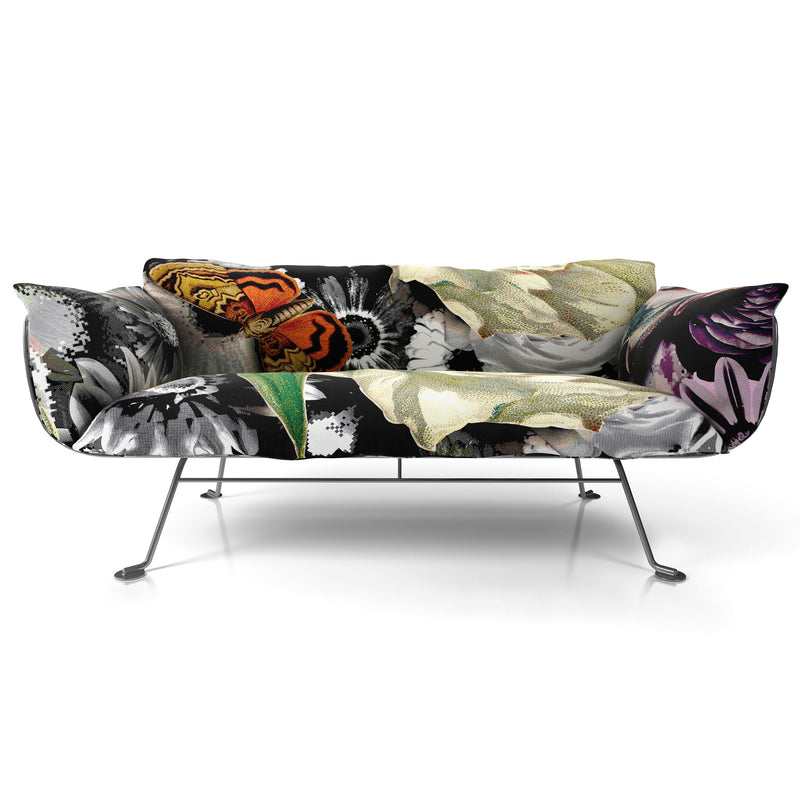 Moooi Nest Sofa Flower Bits Fabric