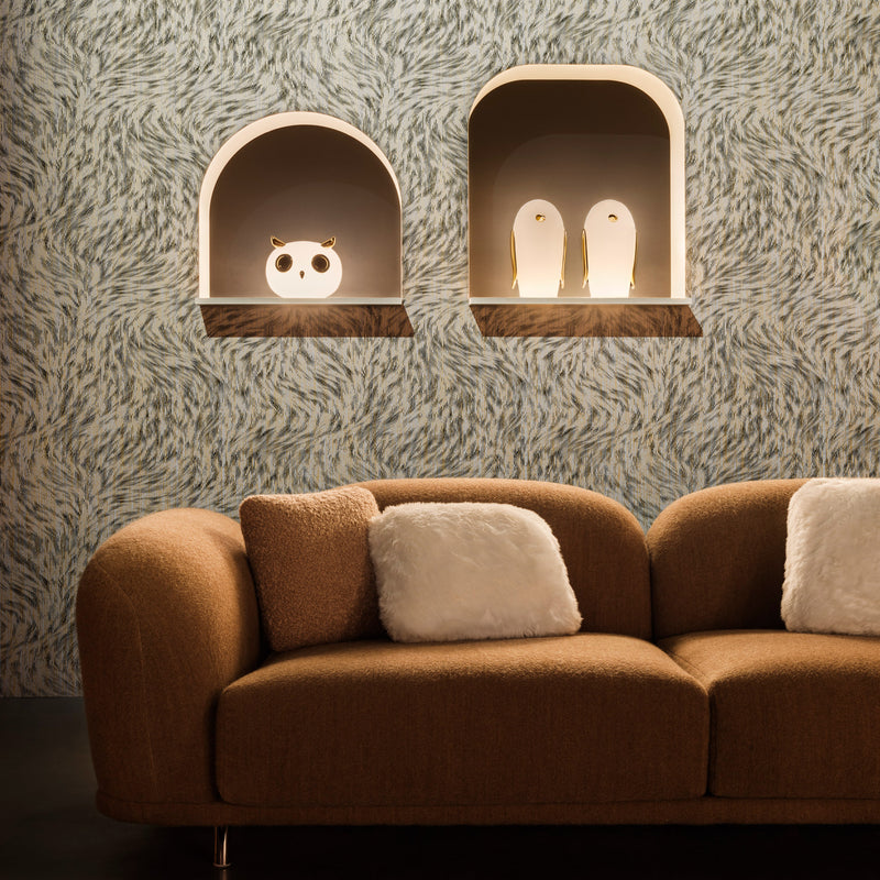 Moooi 'Noot Noot' (Penguin) Pet Light by Marcel Wanders Roomset