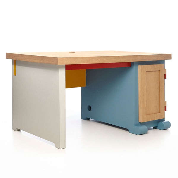 Moooi Paper Desk Patchwork Right-hand
