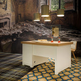 Moooi Paper Desk White by Studio Job