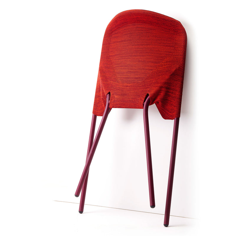 Shift Dining Chair Red Folded