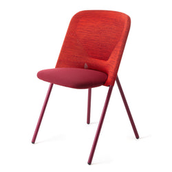 Shift Dining Chair Red Side View