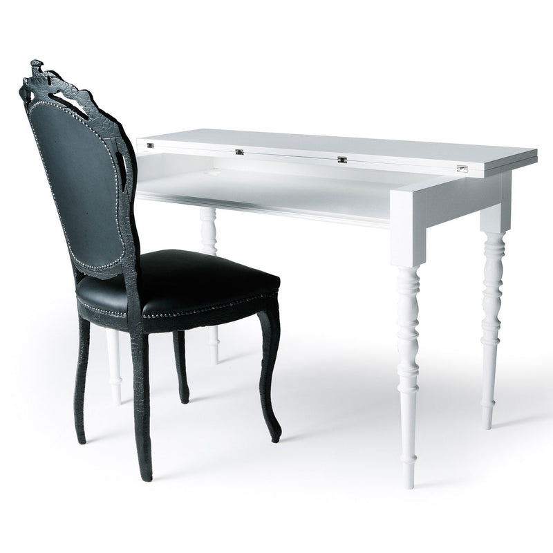 Moooi Smoke Dining Chair & Two Tops Desk
