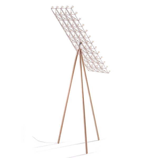 Moooi Space-Frame Floor Lamp Back