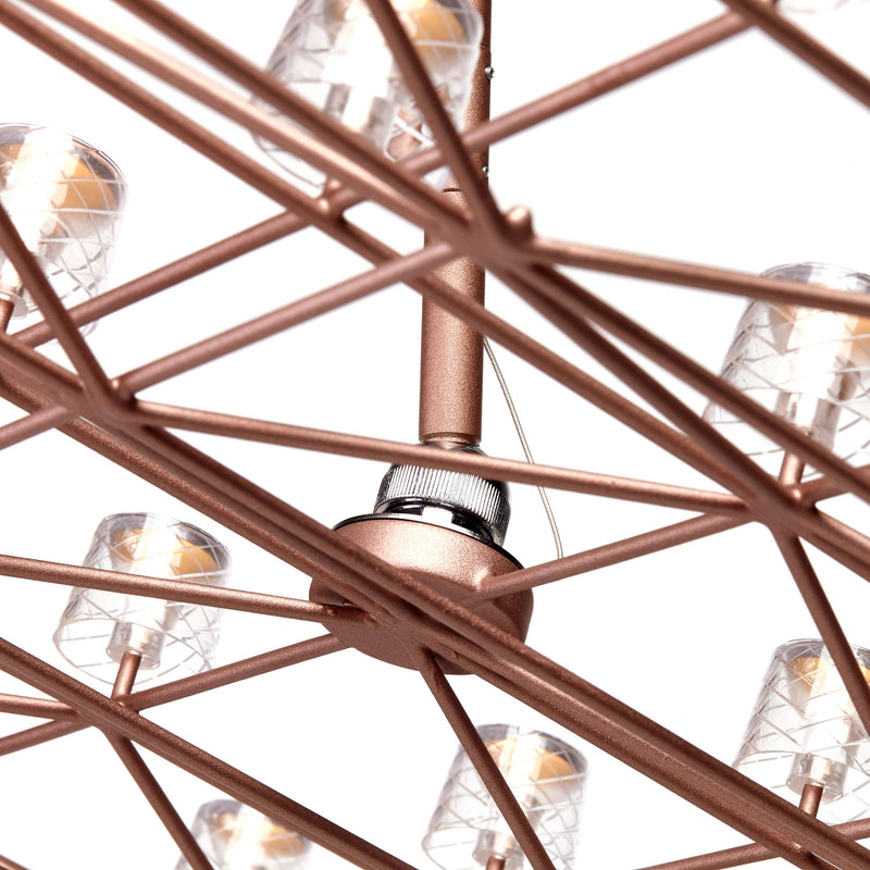 Moooi Space-Frame Suspension Frame Detail