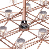 Moooi Space-Frame Suspension Lamp Detail