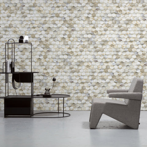 NLXL Beehive Wallpaper by Mr & Mrs Vintage