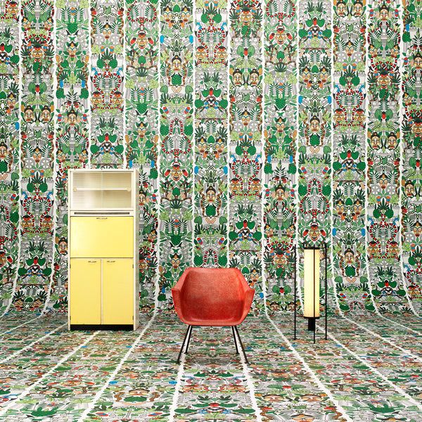 NLXL L'Afrique Wallpaper by Studio Job Roomset