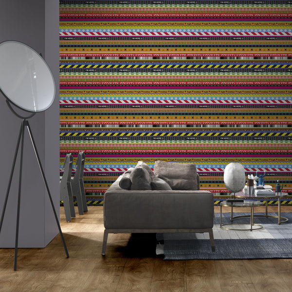 NLXL LAB Layers Wallpaper by Richard Hutten Roomset