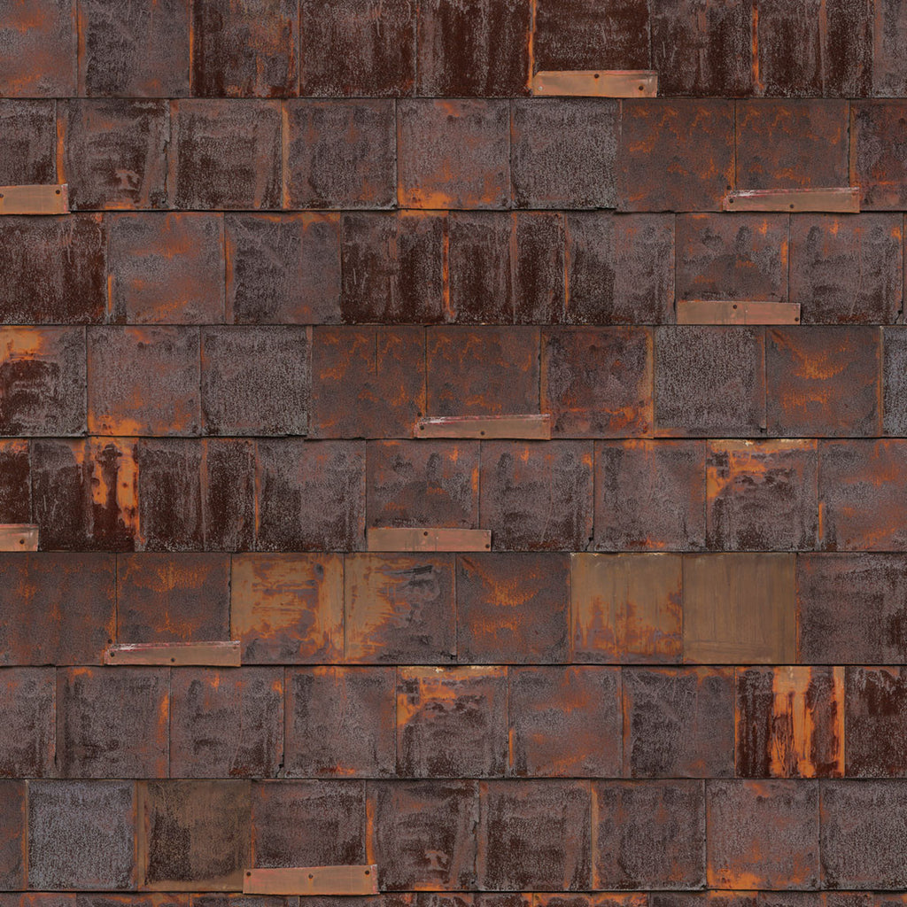 NLXL LAB Rusted Metal Wallpaper By Piet Hein Eek Brown