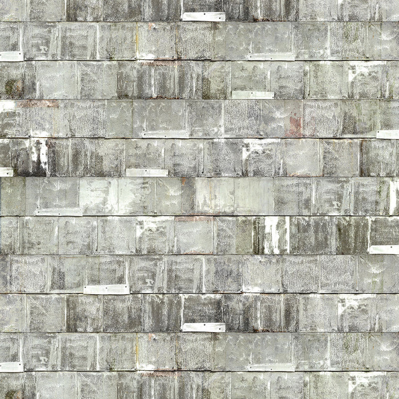 NLXL LAB Rusted Metal Wallpaper by Piet Hein Eek White