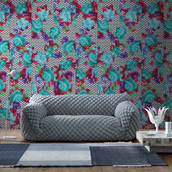 NLXL LAB Thammada Wallpaper by Paola Navone Roomset