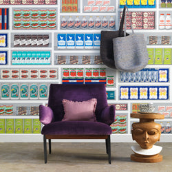Supermarket Wallpaper by Paola Navone