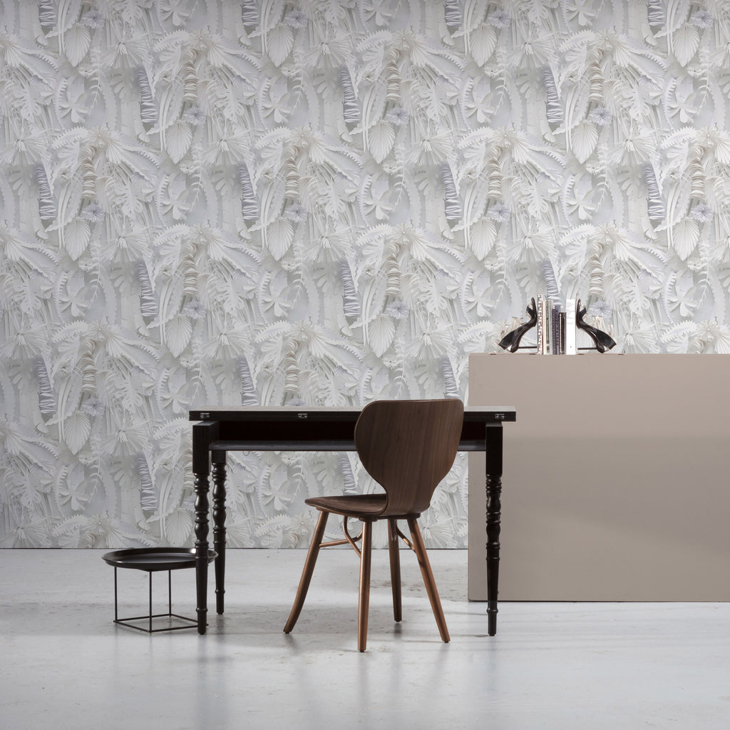 NLXL 'Paper Flowers' Wallpaper by Studio Boot