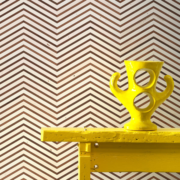 NLXL Timber Strips Wallpaper by Piet Hein Eek - TIM-04 Close Up