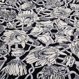 Withered Flowers Rug Detail