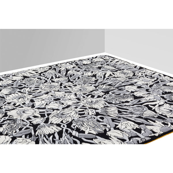 Withered Flowers Rug Roomset