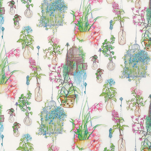 Osborne & Little Hanging Garden Fabric F7014-01