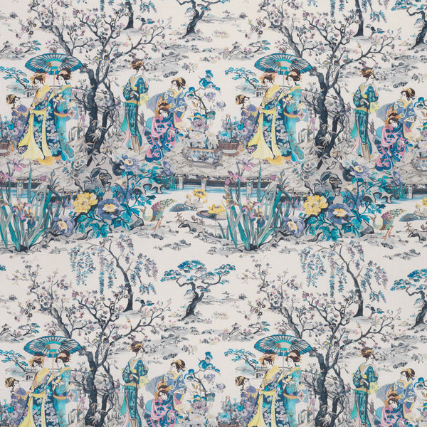 Osborne & Little Japanese Garden Fabric F7015-01