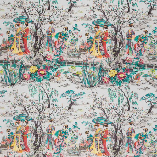 Osborne & Little Japanese Garden Fabric F7015-02