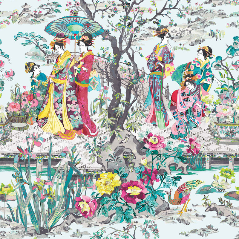 Osborne & Little 'Japanese Garden' Wallpaper W7024-02