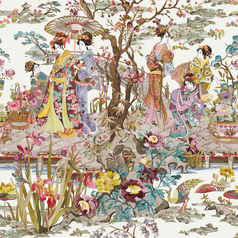 Osborne & Little 'Japanese Garden' Wallpaper W7024-03