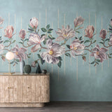 Osborne & Little 'Magnolia Frieze' Wallpaper Roomset