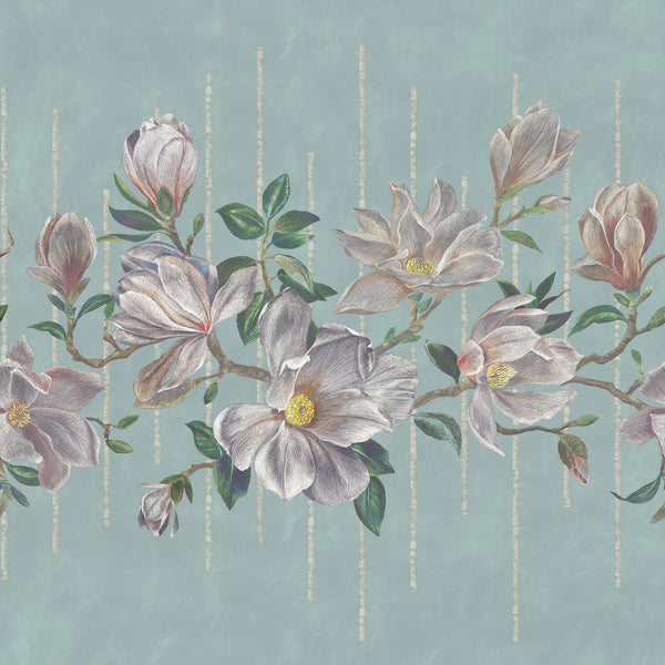 Osborne & Little 'Magnolia Frieze' Wallpaper W7338-02