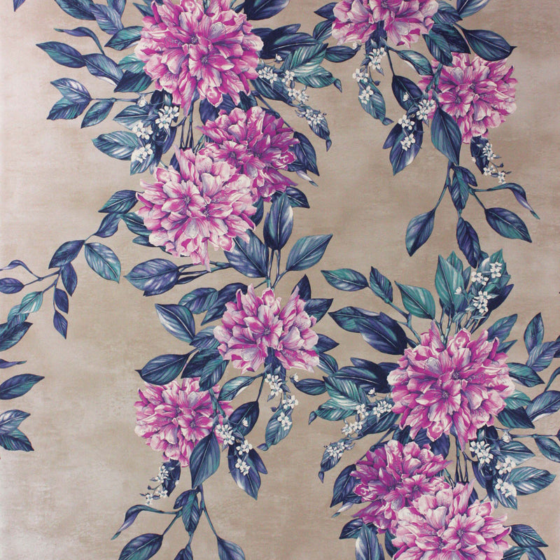 Osborne & Little 'Rhodora' Wallpaper W7022-02