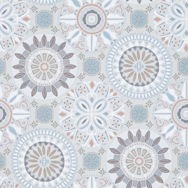 Osborne & Little 'Rosetta' Wallpaper W7337-02