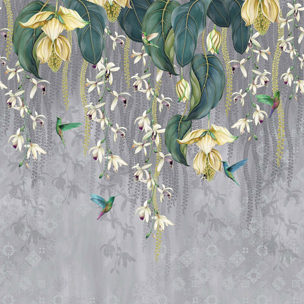 Osborne & Little 'Trailing Orchid' Wallpaper W7334-02