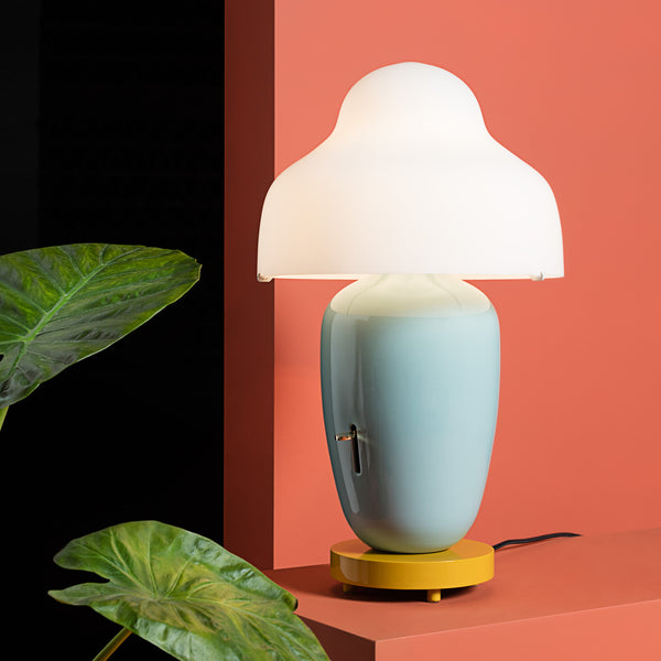 Parachilna 'Chinoz' Table Lamp - Green by Jaime Hayon Roomset