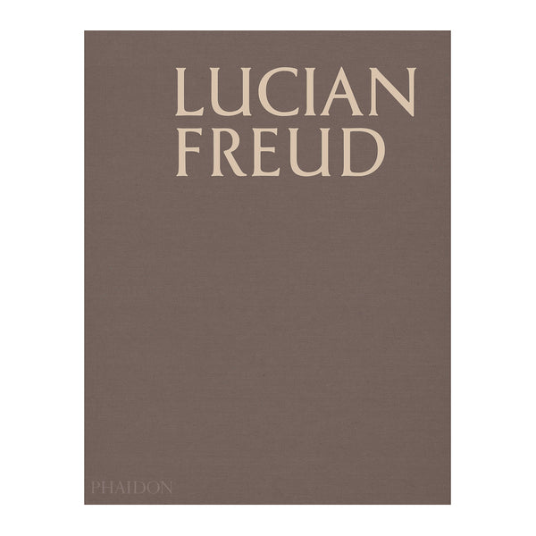 Phaidon Lucian Freud Book Cover