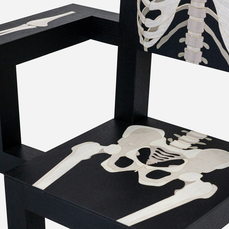 Scapin Collections Skeleton Armchair by Marcantonio Close Up