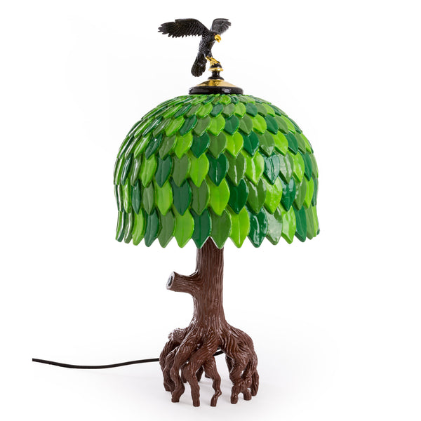 Seletti Tiffany Tree Lamp by Studio Job Side