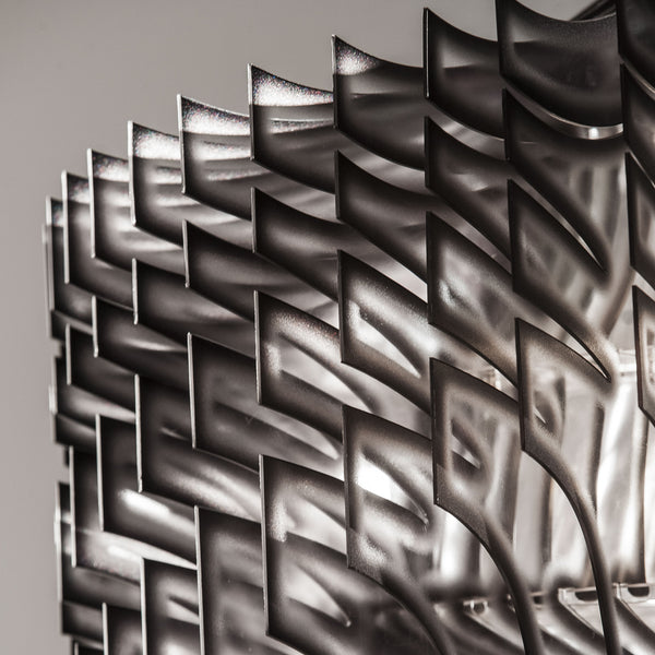 Slamp 'Aria' Suspension Lamp by Zaha Hadid - Black Blade Detail