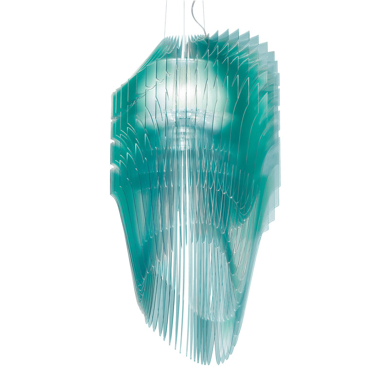 Slamp 'Avia Edition' Suspension Lamp - Turquoise by Zaha Hadid