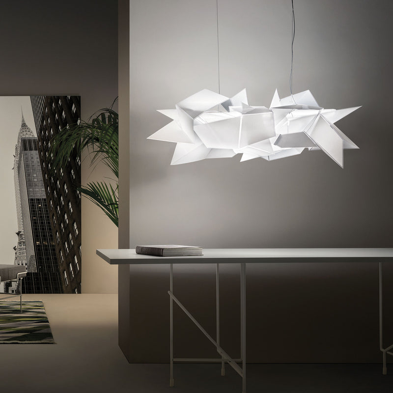 Slamp Cordoba Suspension Lamp by Daniel Libeskind Roomset