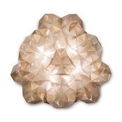 Slamp 'Drusa' Ceiling/Wall Lamp by Adriano Rachele Gold