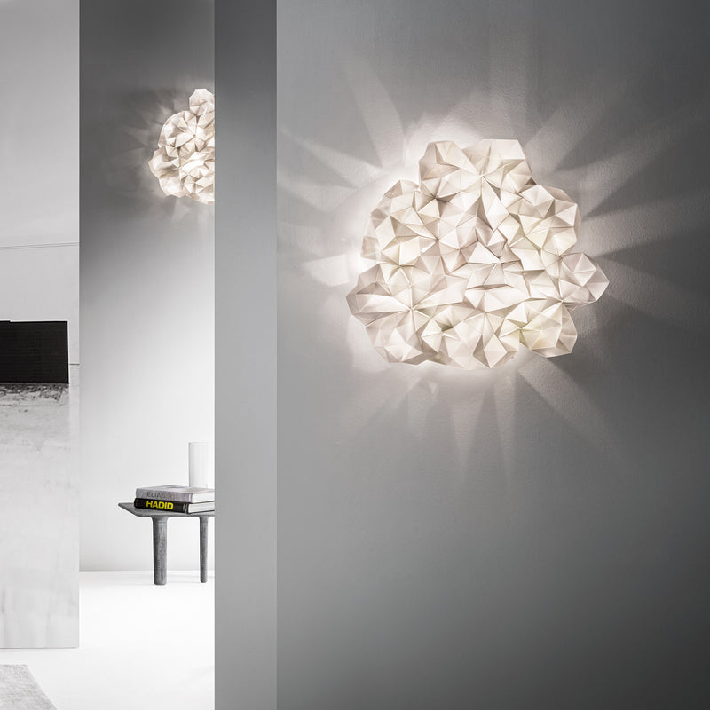 Slamp 'Drusa' Ceiling/Wall Lamp by Adriano Rachele Roomset
