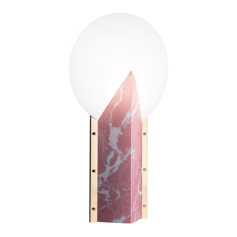 Slamp Moon 25th Anniversary Table Lamp - Pink Side