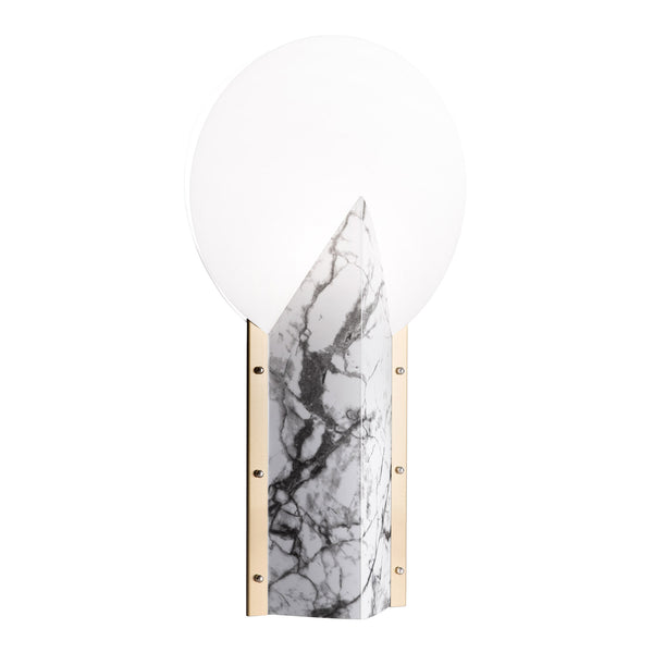 Slamp Moon 25th Anniversary Table Lamp - White Side