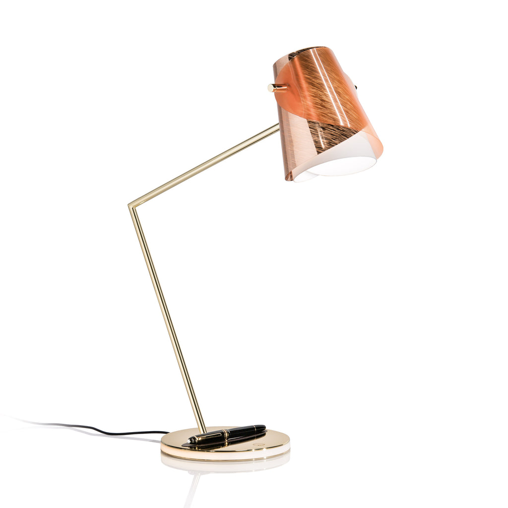 Slamp Overlay Table Lamp and Montblanc Pen