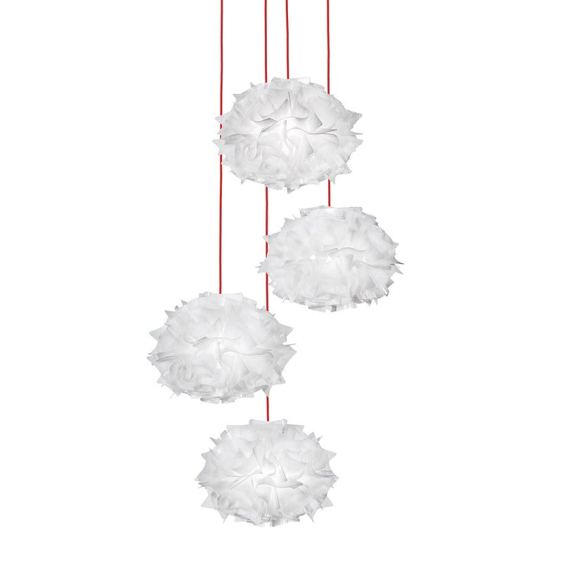 Slamp 'Veli MIni Quartet Couture' Suspension Lamp