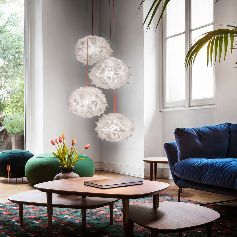 Slamp 'Veli MIni Quartet Couture' Suspension Lamp Roomset