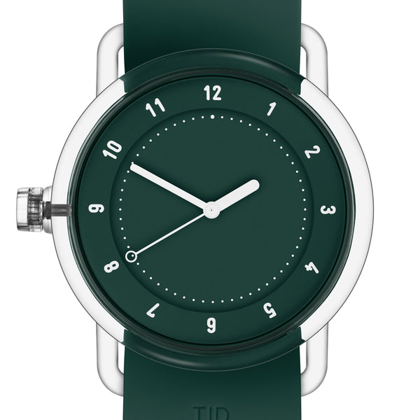 TID Watches 'No.3 TR90' Green Detail
