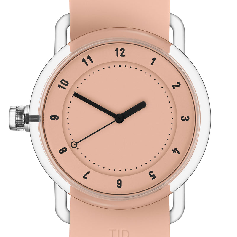 TID Watches 'No.3 TR90' Pink Detail