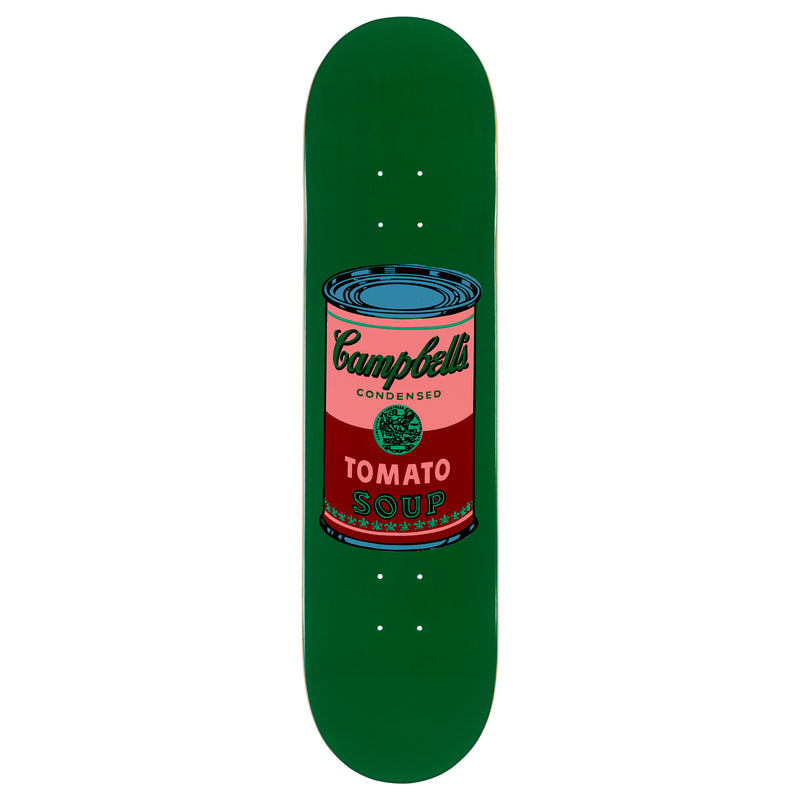 Andy Warhol Coloured Campbell's Soup Skateboard - Blood