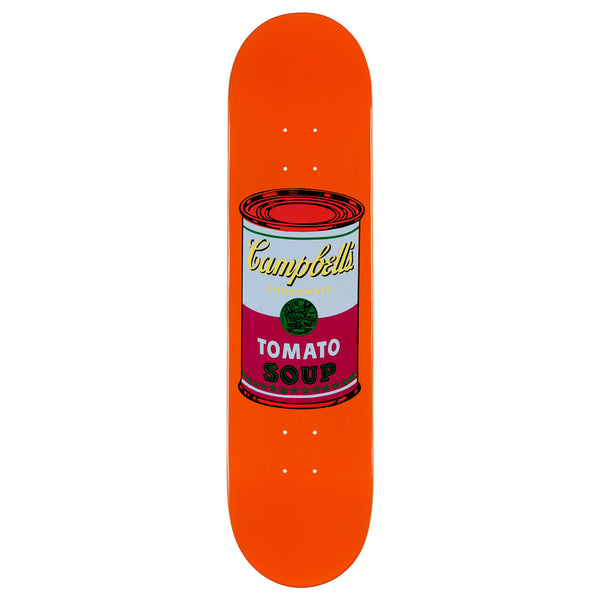 Andy Warhol Coloured Campbell's Soup Skateboard - Purple